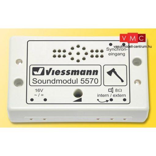 Viessmann 5570 Hangmodul, faaprítás