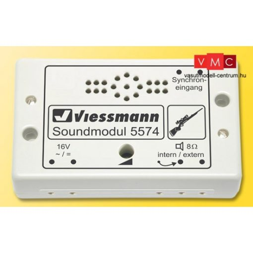 Viessmann 5574 Hangmodul, vadászat