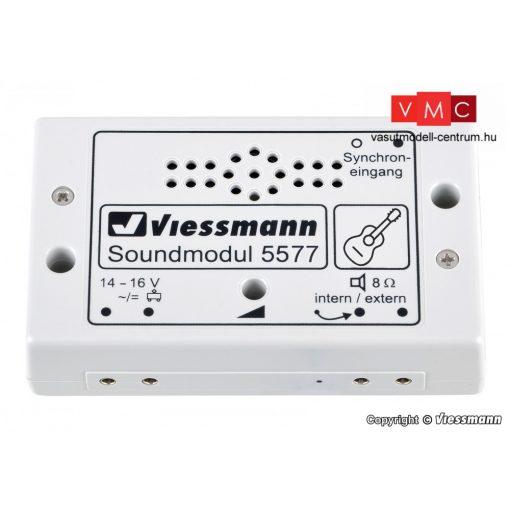 Viessmann 5577 Hangmodul, utcazenész gitárral