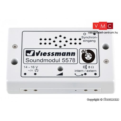 Viessmann 5578 Hangmodul, jukebox