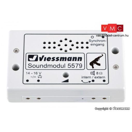 Viessmann 5579 Hangmodul, gépfegyver
