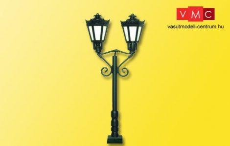 Viessmann 60731 Parklámpa, kétkaros fekete, érintkezőtalppal, LED