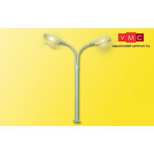 Viessmann 6096 Ostoros utcai lámpa dupla, sárga fénnyel