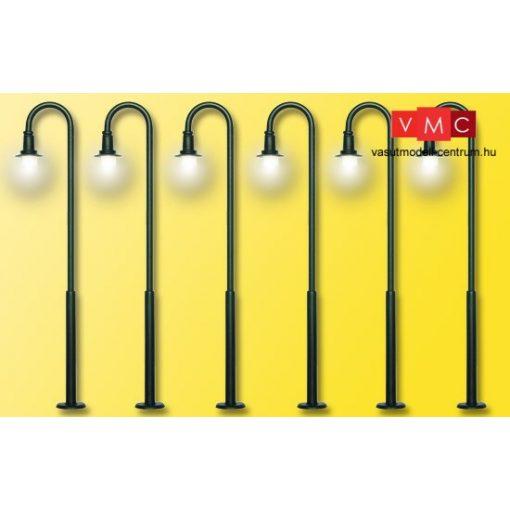 Viessmann 61406 Ívelt lámpa készlet, 5+1 db