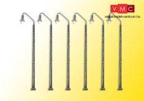 Viessmann 65856 Vasútüzemi lámpa/térvilágítás 5+1 kiszerelés, melegfehér LED (N)