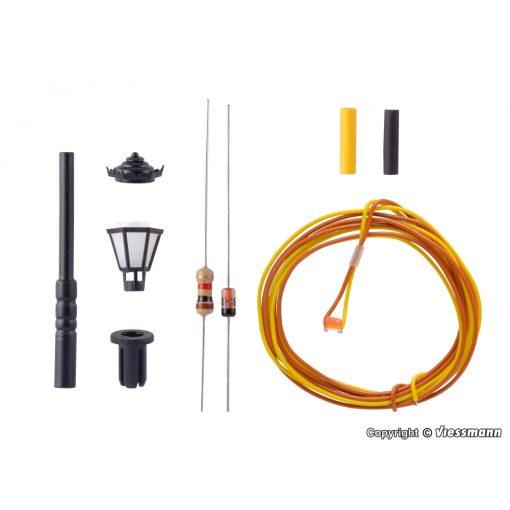 Viessmann 6620 Építőkészlet - Parklámpa, melegfehér LED