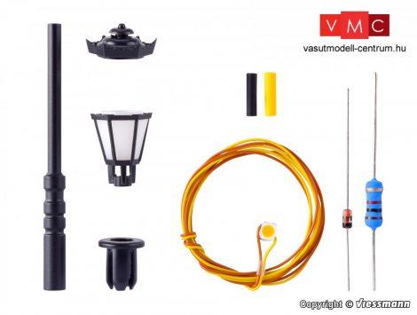 Viessmann 6720 Építőkészlet - Parklámpa, melegfehér LED