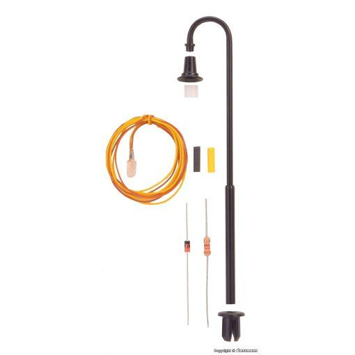 Viessmann 6724 Építőkészlet - Ívelt lámpa
