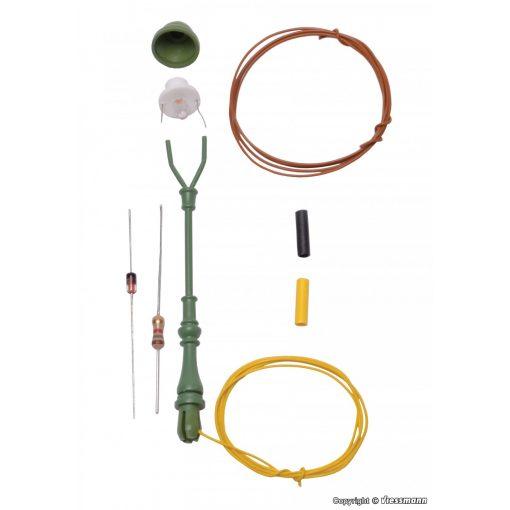 Viessmann 6728 Építőkészlet - Szabványgázlámpa - melegfehér LED (H0)