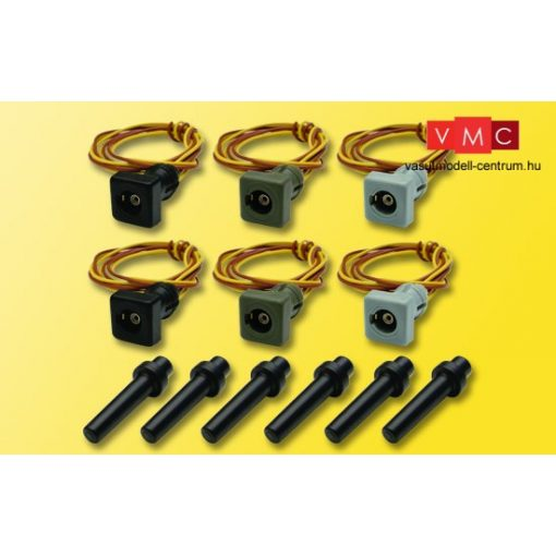 Viessmann 6806 Érintkezőtalp készlet lámpákhoz, 6 db