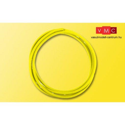 Viessmann 6815 Zsugorcső (sárga) 40 cm, 1,2 mm