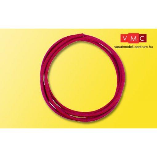 Viessmann 6818 Zsugorcső, piros 40 cm, 1,2 mm