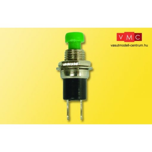 Viessmann 68302 Pillanatkapcsoló, zöld, 5 db