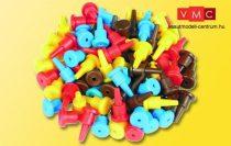 Viessmann 6831 Elektromos dugó készlet kapcsolópultokhoz, vezérlőmodulokhoz, 40 db