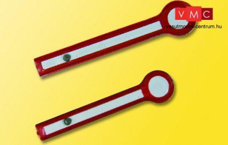 Viessmann 68382 Fém jelzőtárcsa alak-főjelzőkhöz, 2 db (csatolt/háromfogalmú)