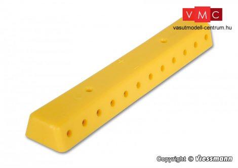 Viessmann 6842 Kábelelosztó 2 db (banándugós csatlakozás), sárga színben, csavarokkal