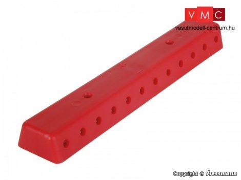 Viessmann 6844 Kábelelosztó 2 db (banándugós csatlakozás), piros színben, csavarokkal