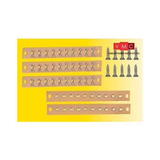 Viessmann 68475 Forrasztható kábelelosztó panel, 10-pólusú, 5 db, csavarokkal