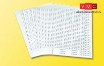 Viessmann 6848 Kábelfeliratozó készlet