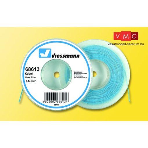 Viessmann 68613 Vezeték 25 m, 0,14 mm, kék