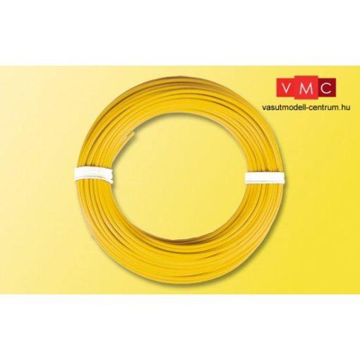 Viessmann 6864 Vezeték 10 m, 0,14 mm, sárga