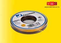 Viessmann 68643 Vezeték 25 m, 0,14 mm, sárga