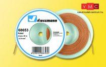 Viessmann 68653 Vezeték 25 m, 0,14 mm? barna