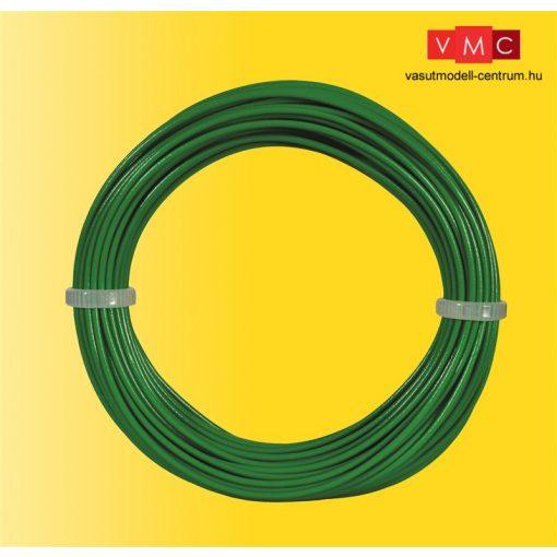 Viessmann 6866 Vezeték 10 m, 0,14 mm, zöld