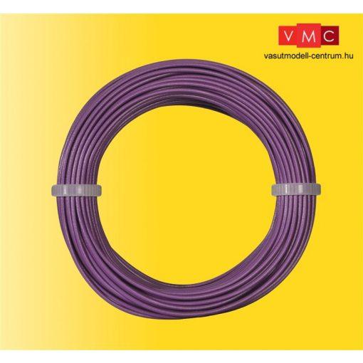 Viessmann 6867 Vezeték 10 m, 0,14 mm, lila