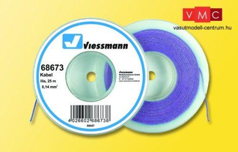 Viessmann 68673 Vezeték 25 m, 0,14 mm? lila