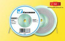 Viessmann 68683 Vezeték 25 m, 0,14 mm? szürke