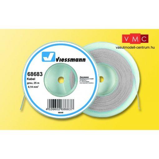 Viessmann 68683 Vezeték 25 m, 0,14 mm, szürke