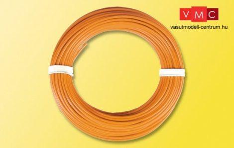 Viessmann 6869 Vezeték 10 m, 0,14 mm?, narancs