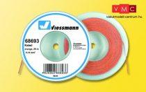 Viessmann 68693 Vezeték 25 m, 0,14 mm, narancs
