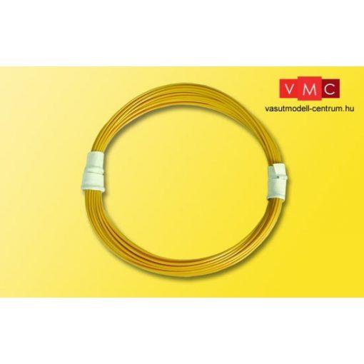 Viessmann 6891 Extravékony vezeték 0,03 mm, 5 m sárga
