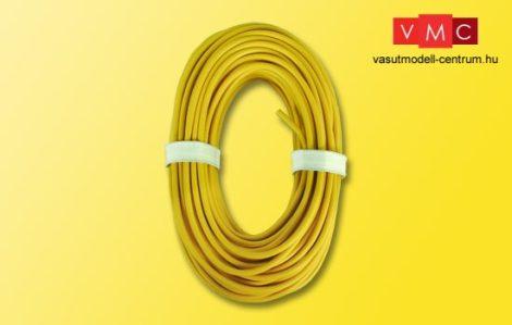 Viessmann 6897 Vezeték (nagyobb feszültség) 0,75 mm?, 10 m, sárga