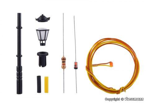Viessmann 6920 Építőkészlet-Parklámpa, melegfehér LED