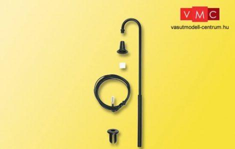 Viessmann 6924 Építőkészlet-Ívelt lámpa