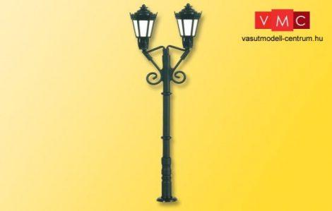Viessmann 6973 Parklámpa, kétkaros fekete