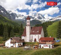 Vollmer 42080 Alpesi falu templommal (H0)