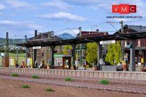 Vollmer 3536 Állomási fedett peron, Seeburg (H0)