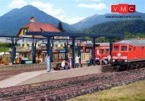 Vollmer 3537 Állomási fedett peron, Kreuzeck (H0)