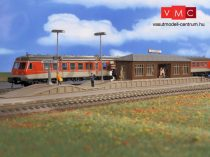 Vollmer 43549 Állomási peron Niederau, fedett váróval (H0)