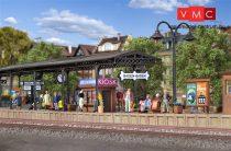 Vollmer 3559 Állomási fedett peron Baden-Baden, 6 részes (H0)