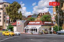 Vollmer 3632 Burger King gyorsétterem, LED világítással és belső berendezéssel (H0)