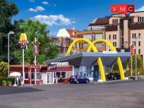Vollmer 3635 McDonald's gyorsétterem McCafe kávézóval (H0)