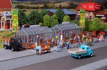 Vollmer 3644 Üvegházak, Garten Center (H0)