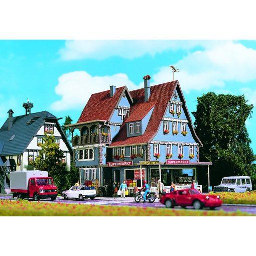 Vollmer 3660 Szupermarket, világítással és belső berendezéssel (H0)