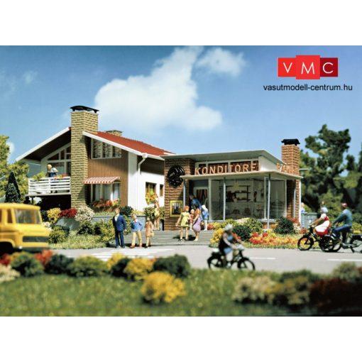 Vollmer 3724 Családi ház és cukrászda (H0)