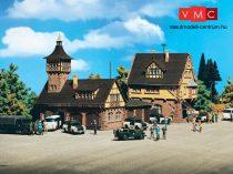 Vollmer 3755 Rendőrörs 7. körzet, járműtároló épülettel (H0)